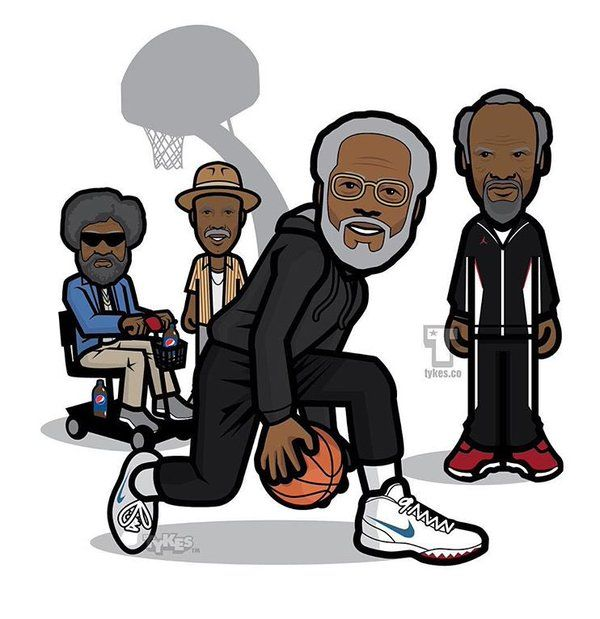 Image Result For Uncle Drew Kyrie Cartoon