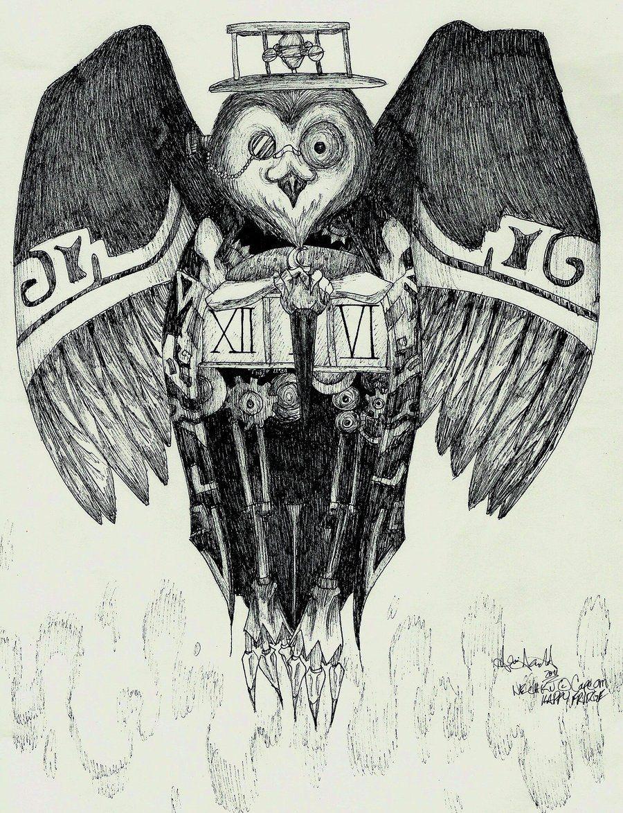 okami demon owls owl demon nechku by happyfridge on deviantart