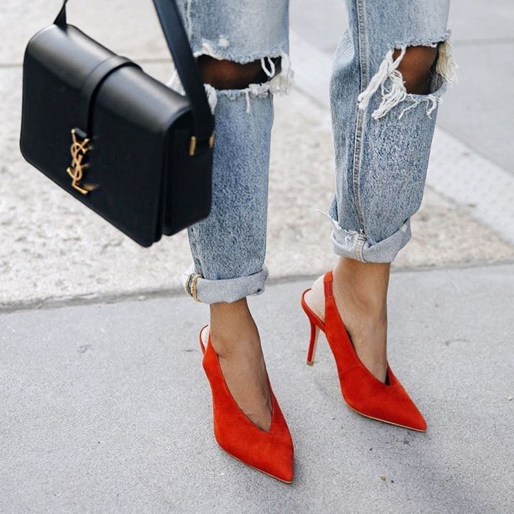 80ce8b5d9d61 Céline-Style V-Cut Shoes