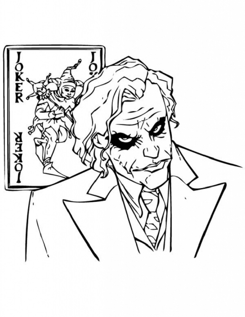 The Joker Coloring Pages Free Download Usable Educative Printable Batman Coloring Pages Coloring Pages Joker Drawings