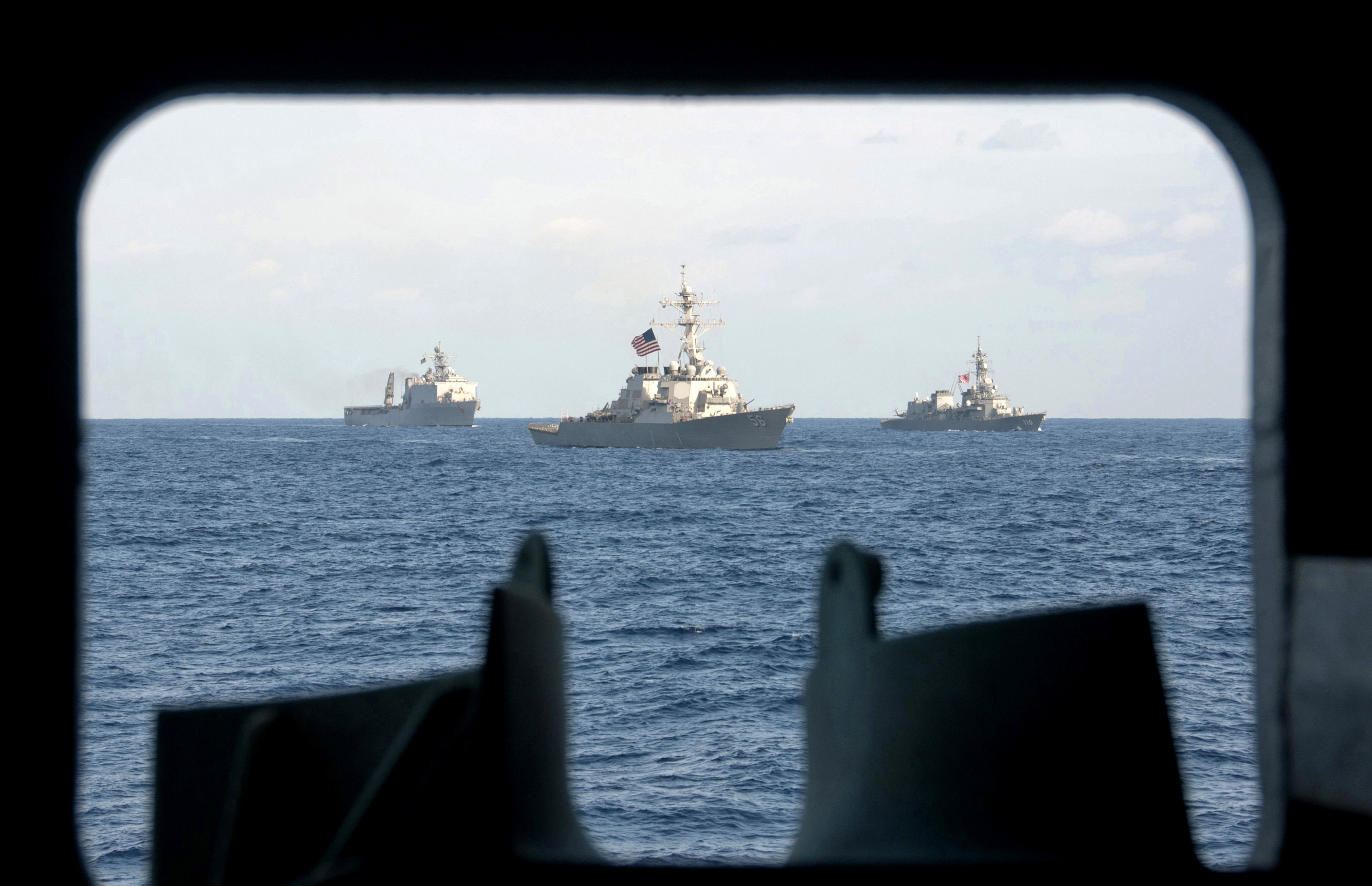Navy sends 2 more warships for N  Korean missile launch   North
