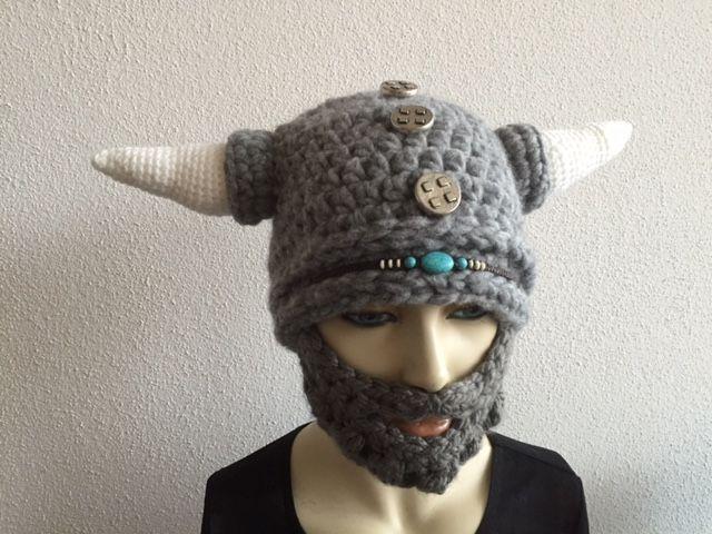 Vikingo con barba