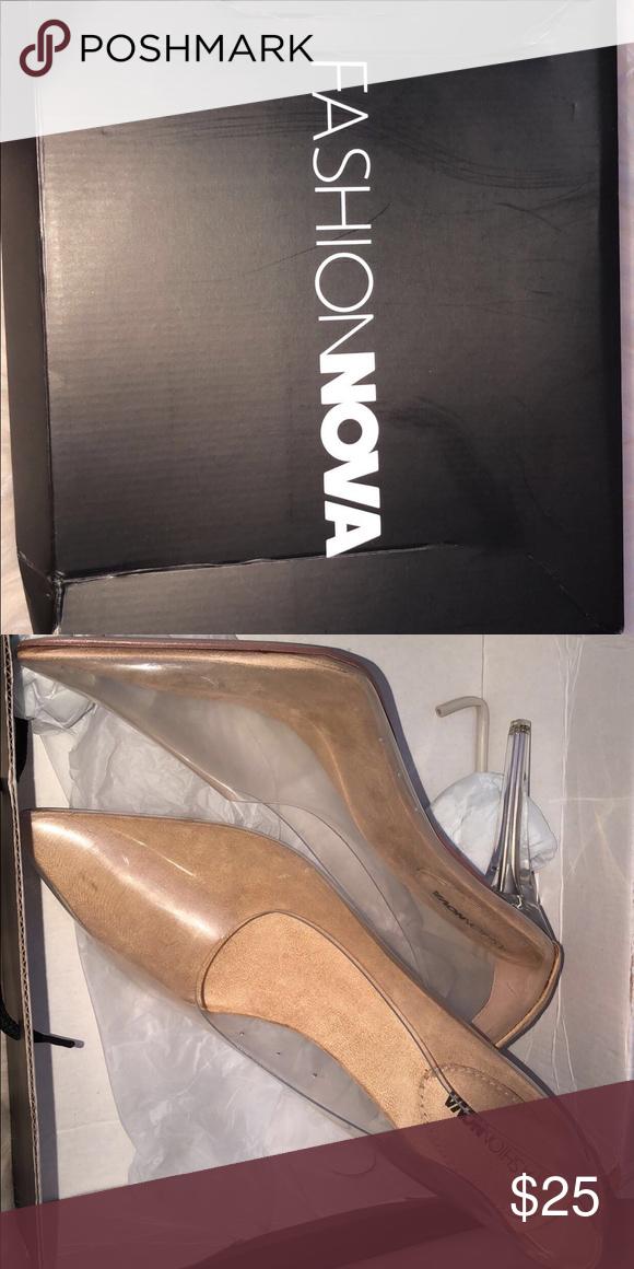 410b117d45e heels. transparent heels fashion nova size 11. these shoes fit ...