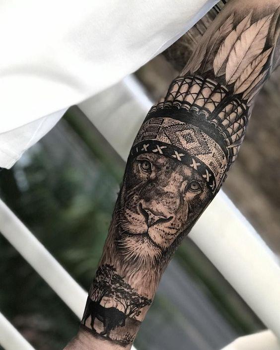 Photo of Wenn ein Mann sich tätowieren lassen möchte, ist der Arm der beste Teil der …