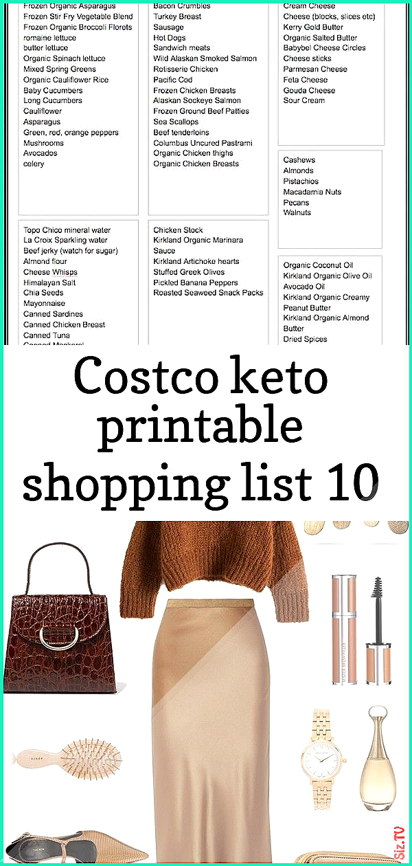 Costco keto printable shopping list 10 Costco keto printable shopping list 10 John Cole jcole4113 Fi...