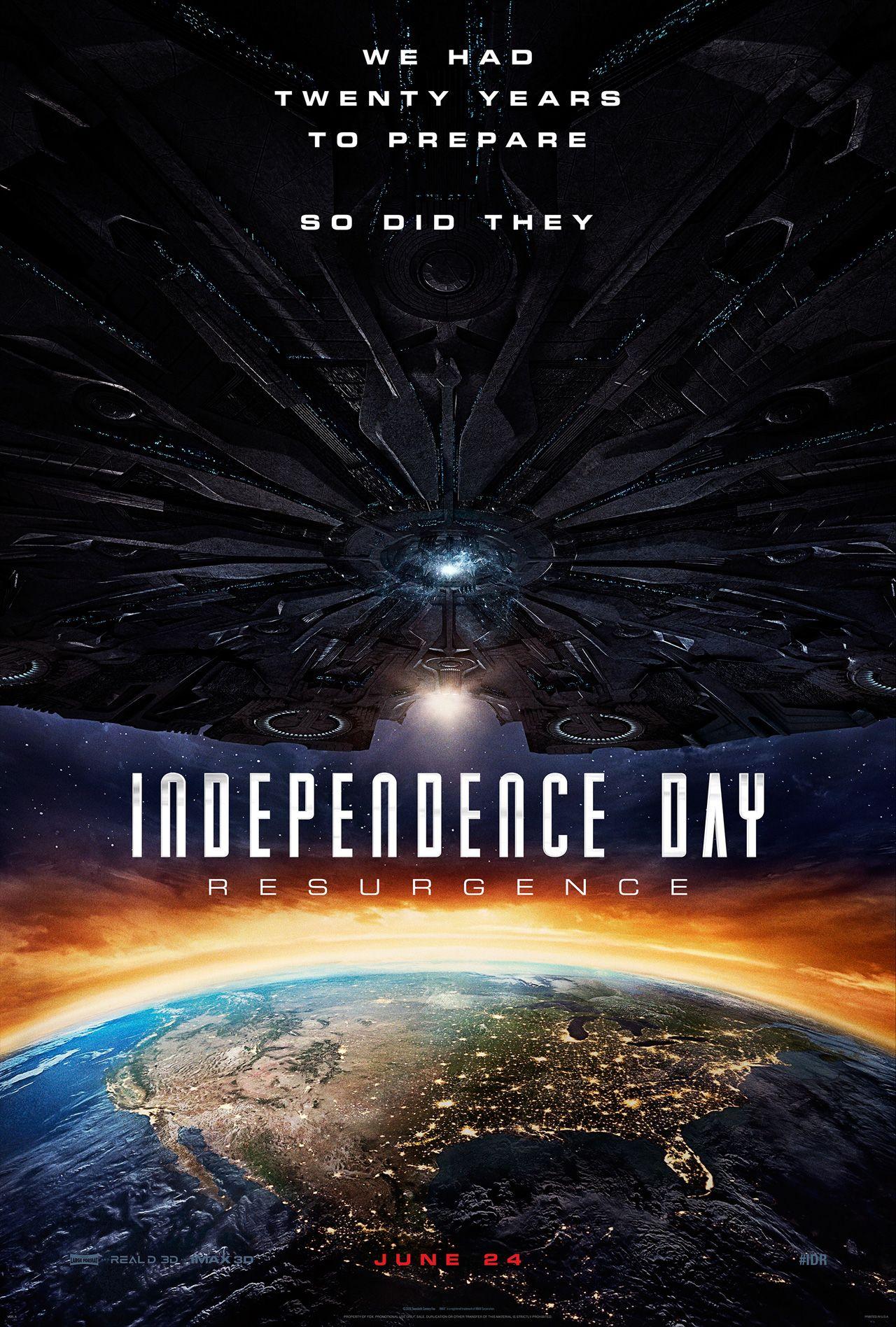 2D 天煞地球反擊戰:復甦紀元 | Independence Day: Resurgence #Liam Hemsworth #Joey King#USA