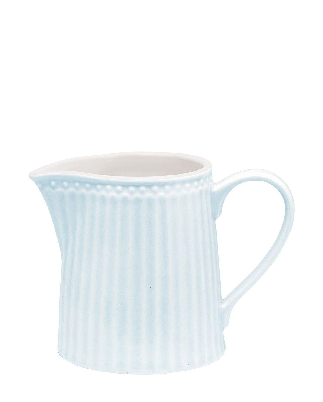 Alice Milchkännchen Pale Blue Von Greengate Kaufen Online Kaufen Geliebtes Zuhause De Milchkanne Porzellan Geschirr Alice