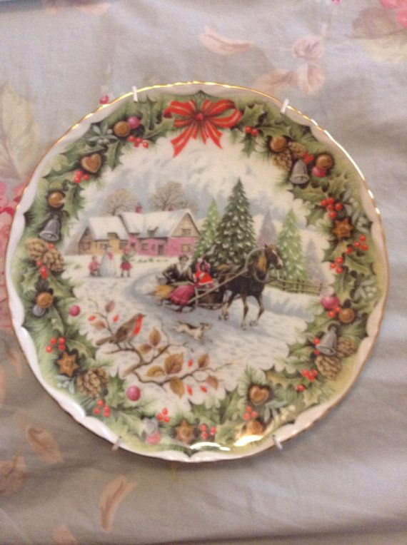 Royal Albert England Bone China Christmas By