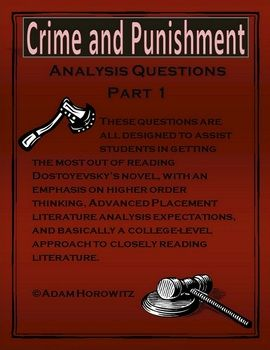 crime and punishment rhetorical analysis In crime and punishment, dostoevsky utilizes a dialogic writing style to portray the story in a way that most readers are not accustomed to we will write a custom essay sample on crime and punishment rhetorical analysis.