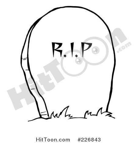 Tombstone Tattoo Coloring Pages Cemetery Tattoo Outlines