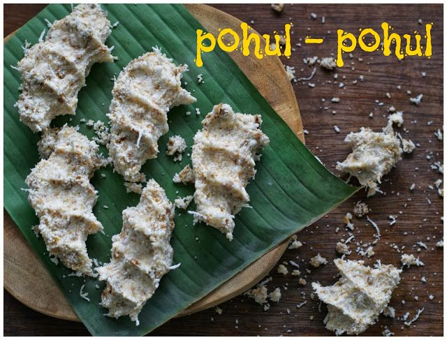 Indonesian Medan Food Ombus Ombus Pohul Pohul Itak Gurgur Resep Resep Masakan Indonesia Kue