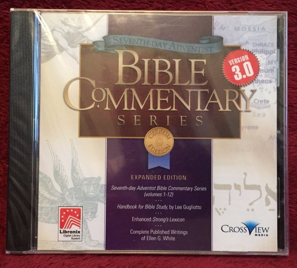 Sda bible commentary series 3 0 cd rom expanded edition brand new factory sealed