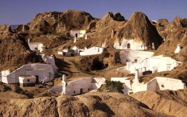 Cave Houses In Spain