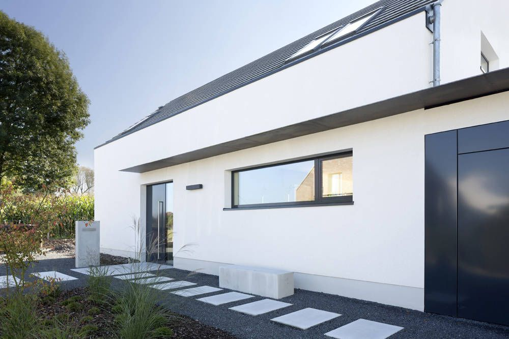 Eingang Haus F+H : Moderne Häuser Von SCHAMP U0026 SCHMALÖER