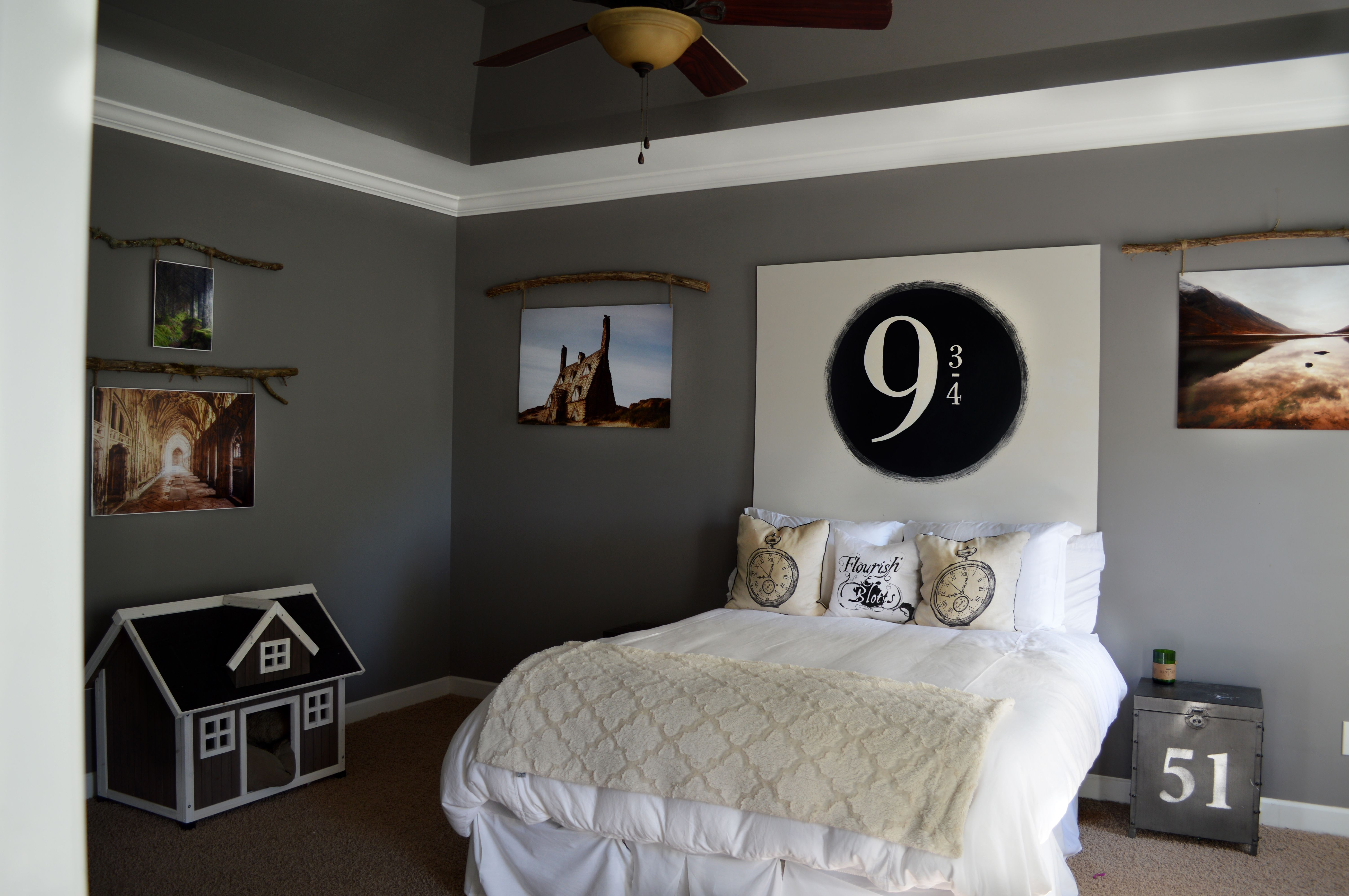 Harry Potter Inspired Guest Bedroom Scenery From Harry Potter