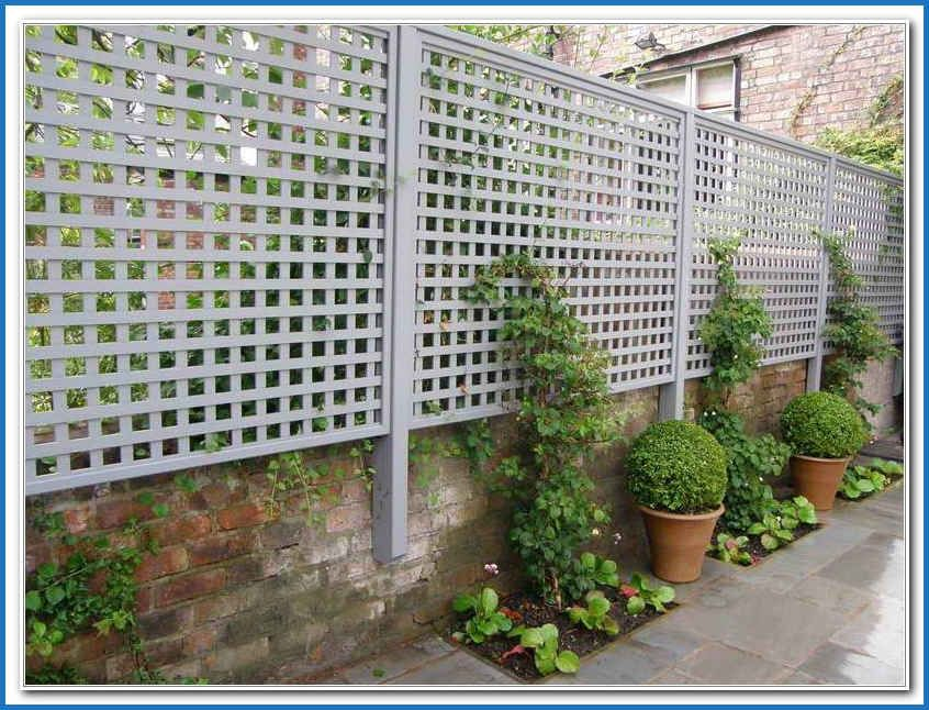 Green Plastic Trellis Planters New Diy Outdoor Privacy Screen