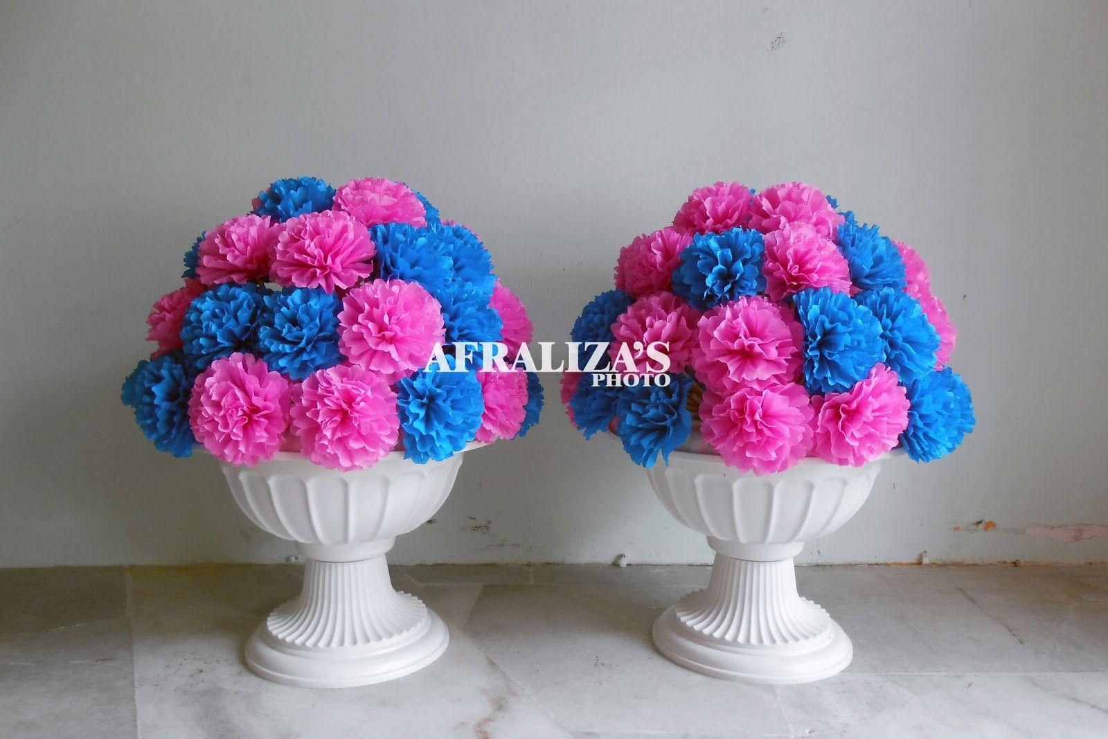 Diy Pasu Bunga Google Search Giant Paper Flowers Wedding Decorations