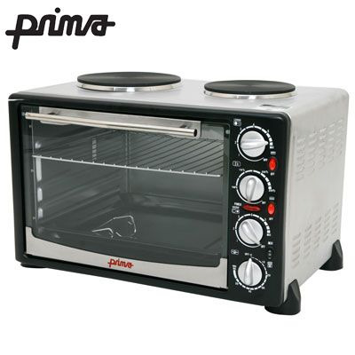 Prima 34l Portable Electrical Convection Oven Bargains Store Hot Plates Convection Oven Convection