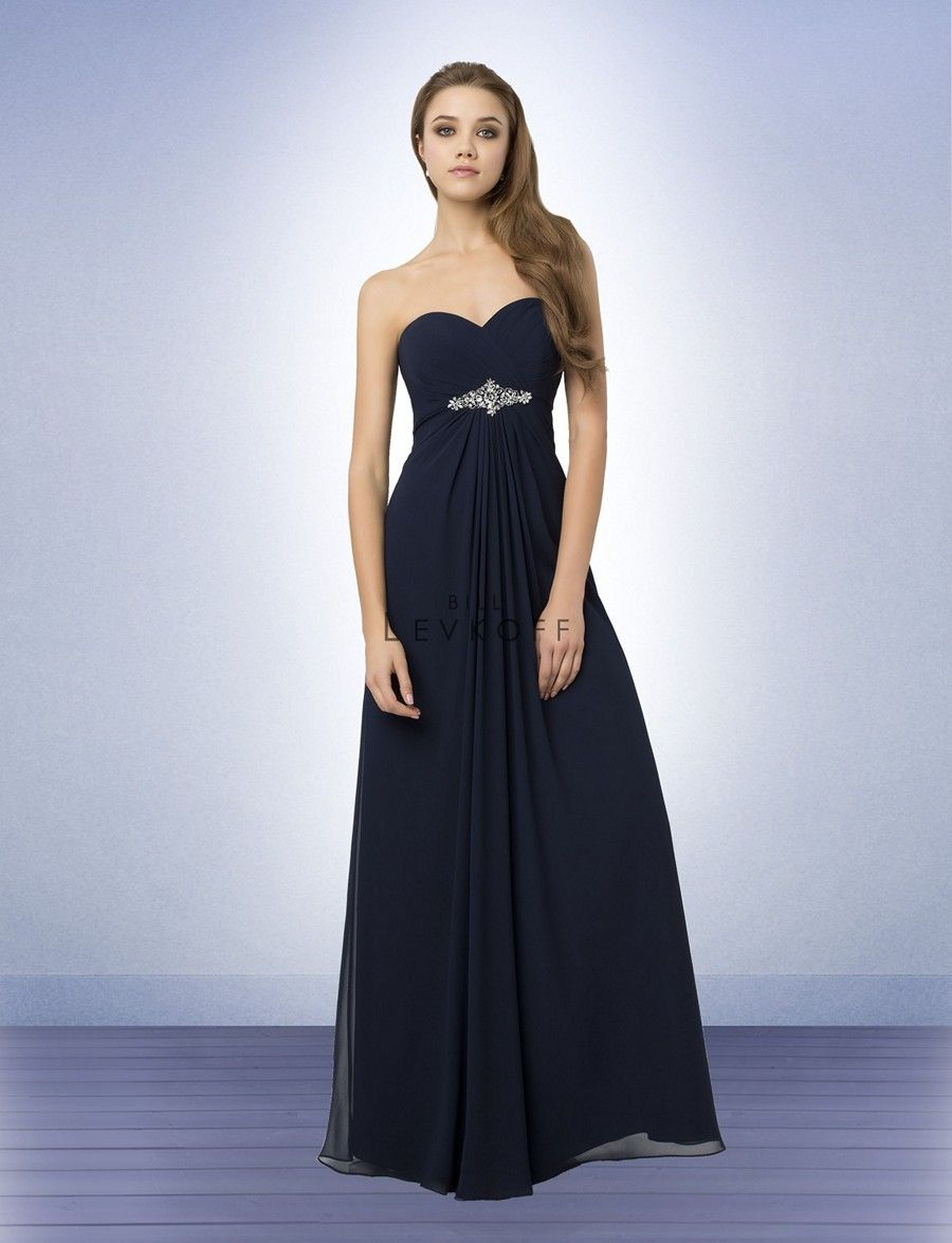 147feb4bf61 Bill Levkoff 779 Bridesmaid Dress. The strapless