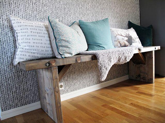 Krossmyra: DIY - Dining Bench