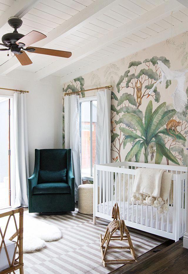 Sarah sherman samuel small space nursery tour home decor inspiration also rh pinterest