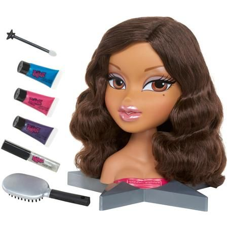 doll hair styling head styling dolls bratz all glammed up yasmin styling 1734 | cec345940c87f048c9ee2625a41e3e17