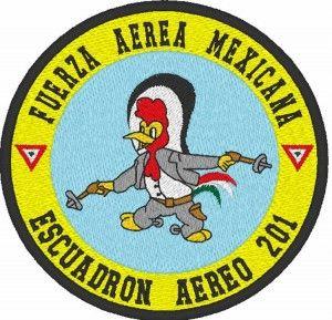 orgullo mexicano escuadrón 201 aguilas aztecas history