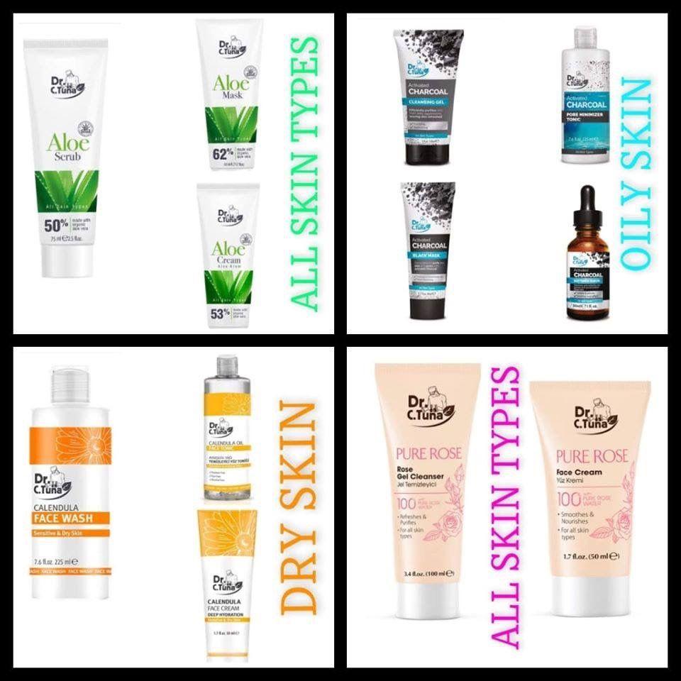 Farmasi Cosmetics Usa Skin Care Skin Types