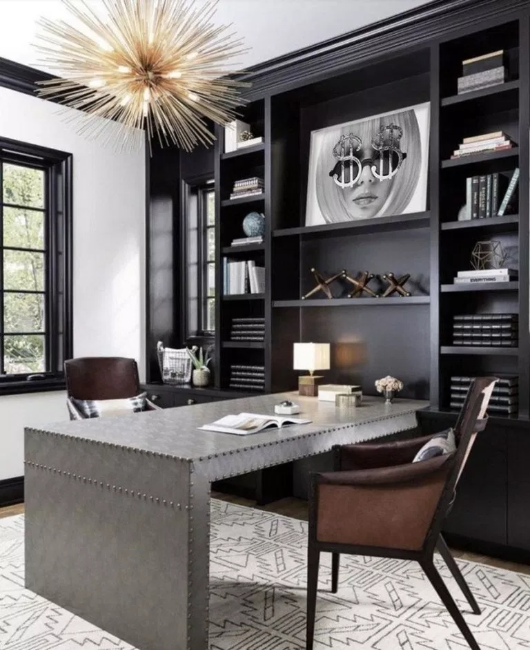 Small Office Design in Lovely and Cheerful Nuance - Amaza ...