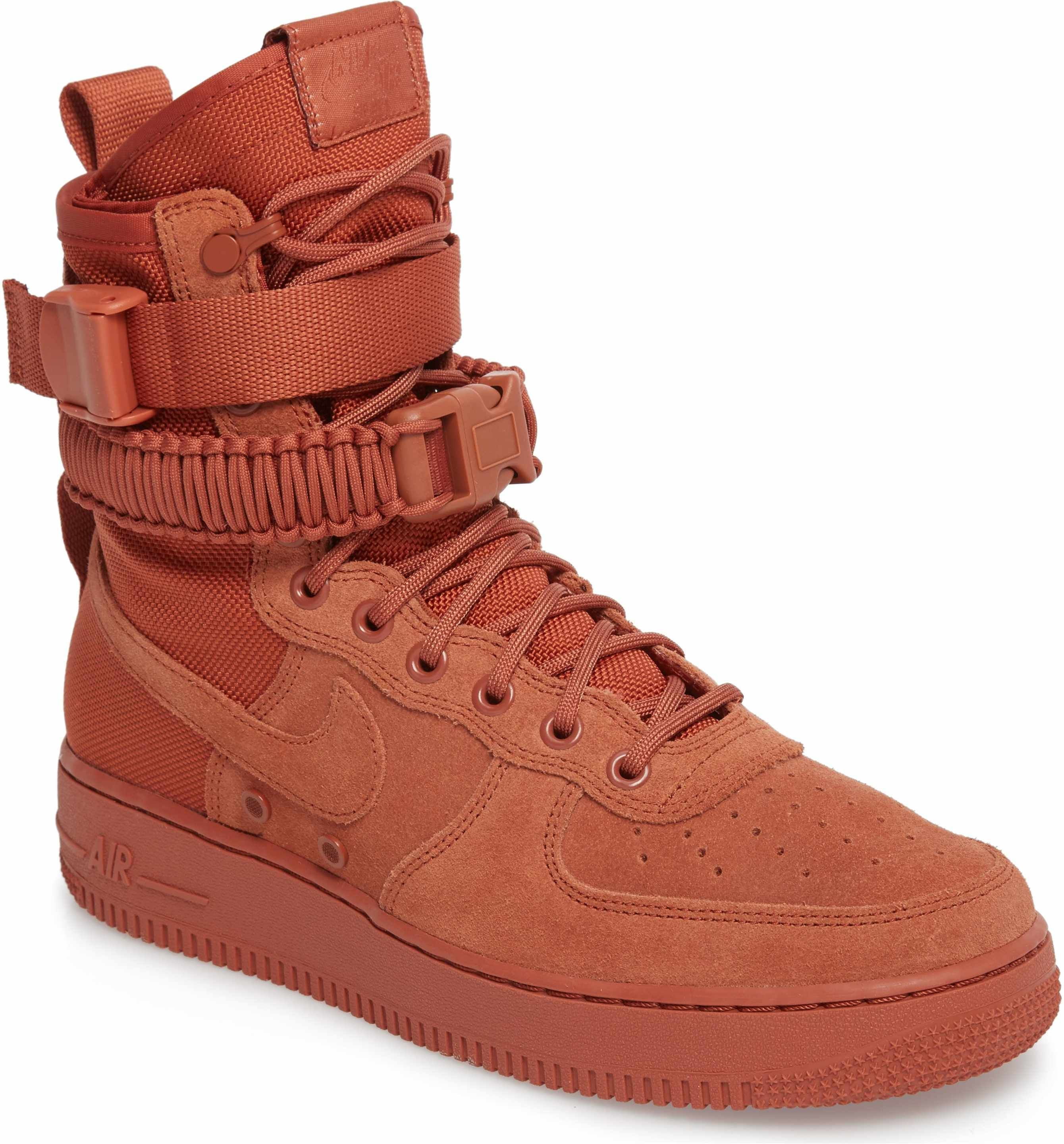 Buy The Newest Nike SF Air Force 1 High Oxy Bood 857872 600