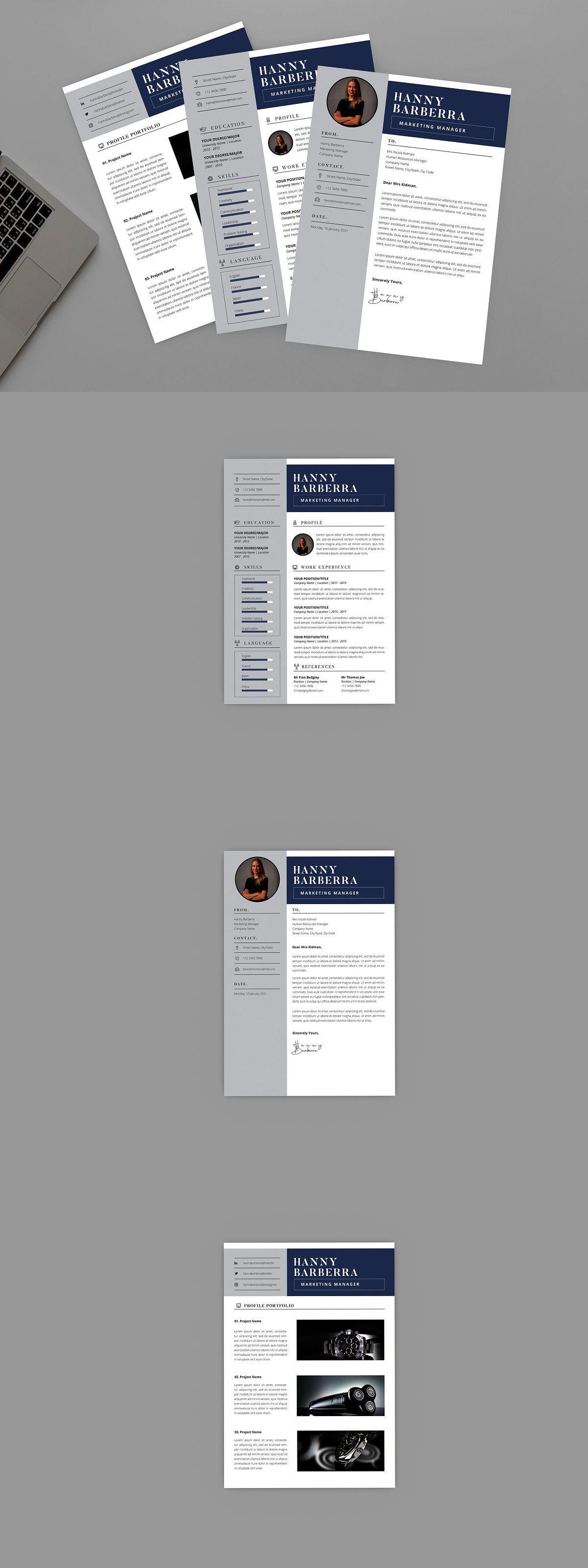 Hanny Marketing Resume Designer in 2020 Marketing resume