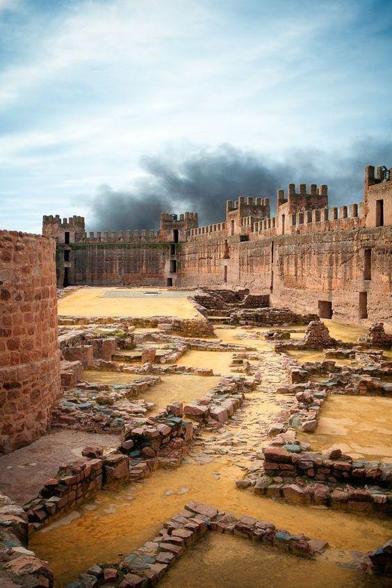 Castillo De Burgalimar Banos De La Encina Jaen Spain Travel