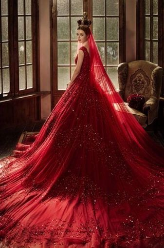 Ball Gowns, Princess, Red, Polyvore, Wedding, Catalog, Dress Long, Pose,  Brides 8407fcc5180c