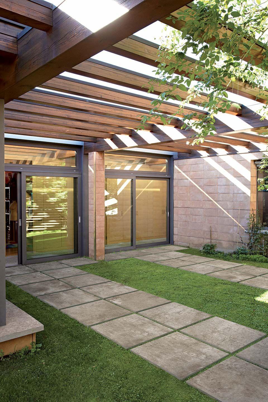 chic ceramic stone-look tiles for outdoor: la rocherex