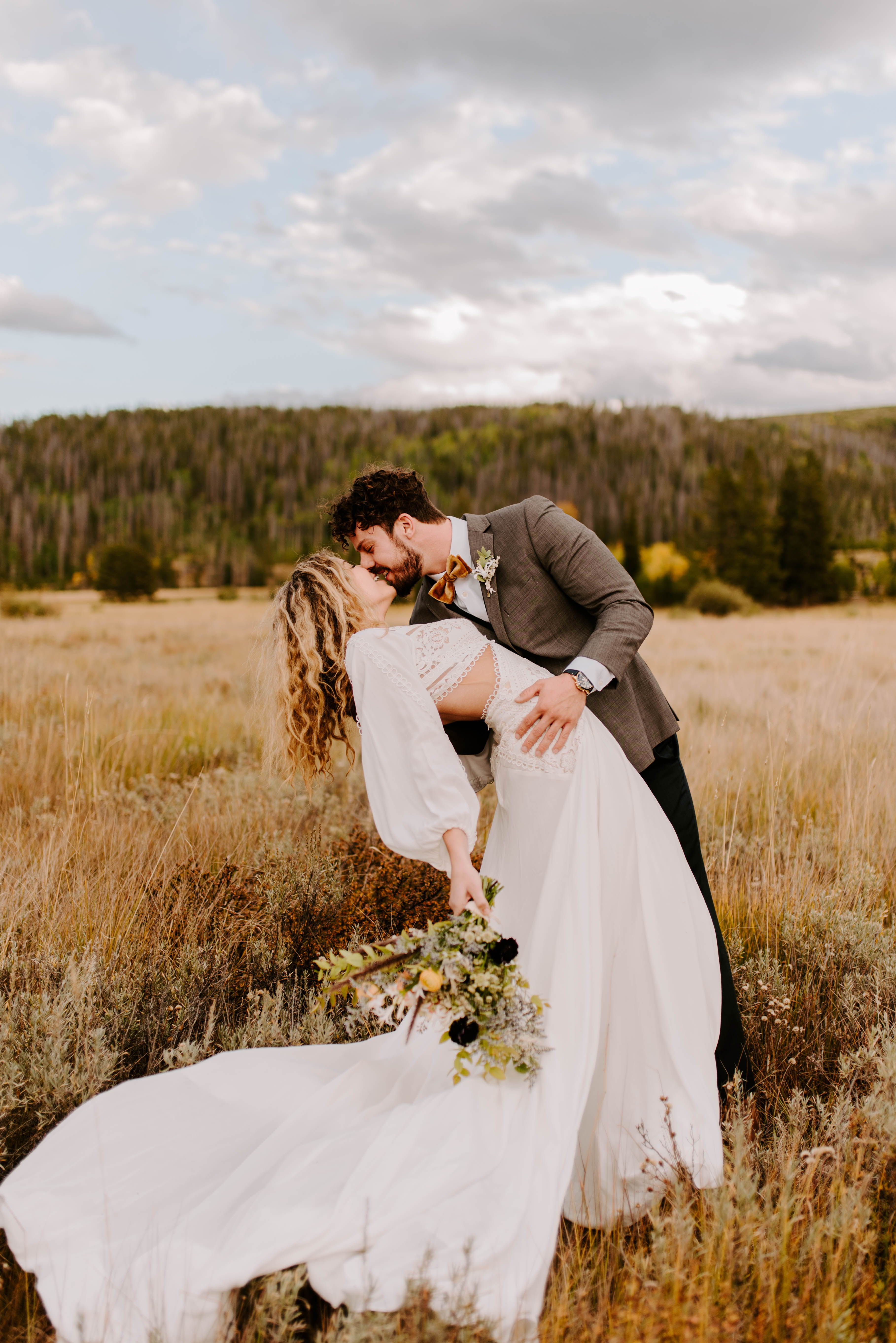 Christian + Rachel Elopement Winter Park, CO Hope