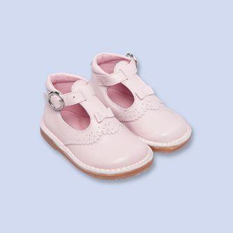 Chaussure Pale Paris Salomés Rose Montantes Fille Jacadi En Cuir BxdQWrCoe