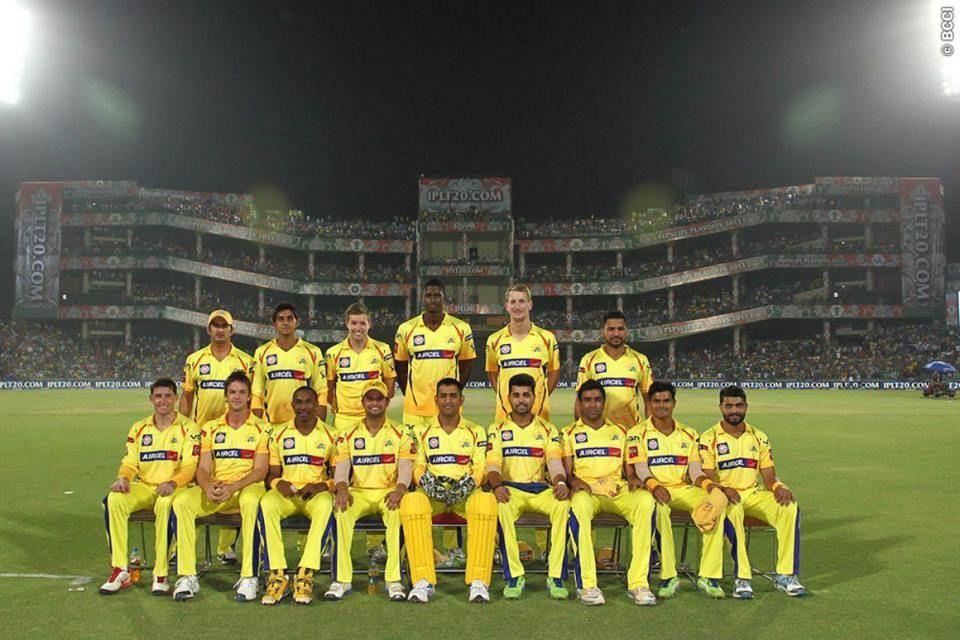 Dhoni With CSK Team Chennai super kings, Cricket sport