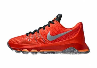 007db5dae3fe Nike KD 8 Court Glider Total Orange Reflective Silver Orange