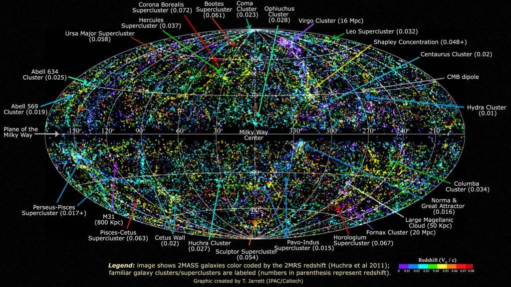 24 maps that will change the way you see the world  Astronomy