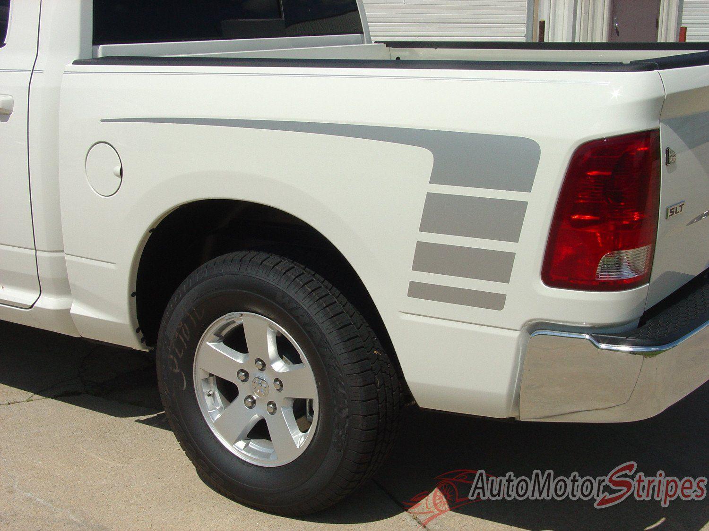20092018 Dodge Ram Power Wagon Decal Truck Hood Rear Side