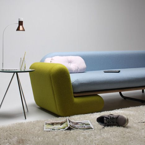 This Couch By New Zealand Design Graduate Marvin Reber Can Be