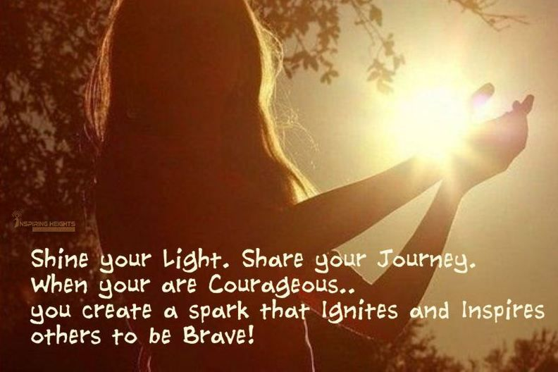 Shine your Light. Share your Journey..