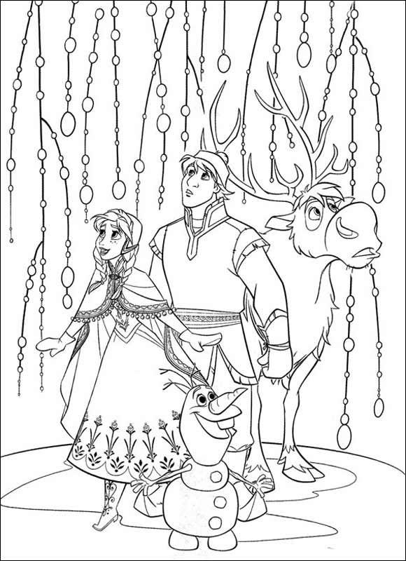 Ausmalbilder Eiskönigin 13 Ausmalbilder Zum Ausdrucken раскраска