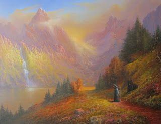 The Lord of the Rings Blog (Joe Gilronan Tolkien Art) Gandalf Beorn