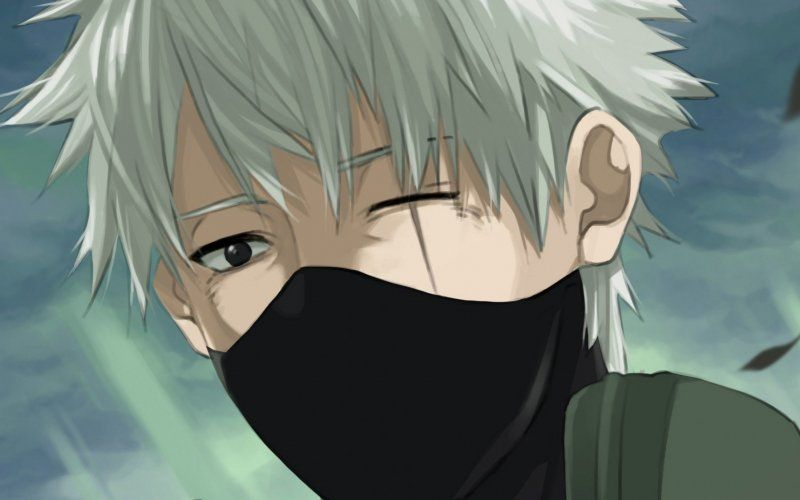 Wallpaper Kakashi Hatake Naruto Face Anime Boy Art Kakashi Hatake Naruto Kakashi Kakashi Sensei