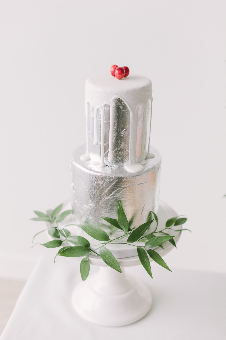 Holiday Bridal Shower Slumber Party   Silver cake, Slumber parties ...