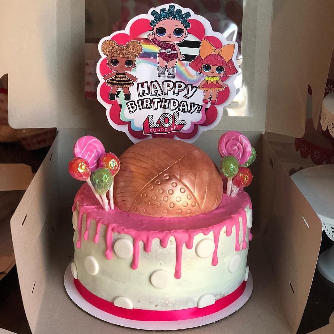 Lol Surprise Doll Birthday Cake With Hidden Imgurl