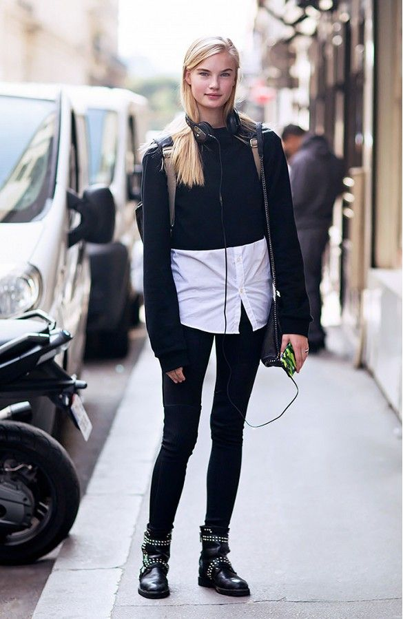 5 Cool Ways to Wear a Cropped Sweater | Moto boots, Layering and ...