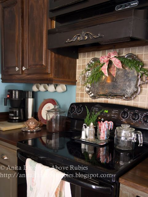 Far Above Rubies: Farmhouse Christmas Kitchen