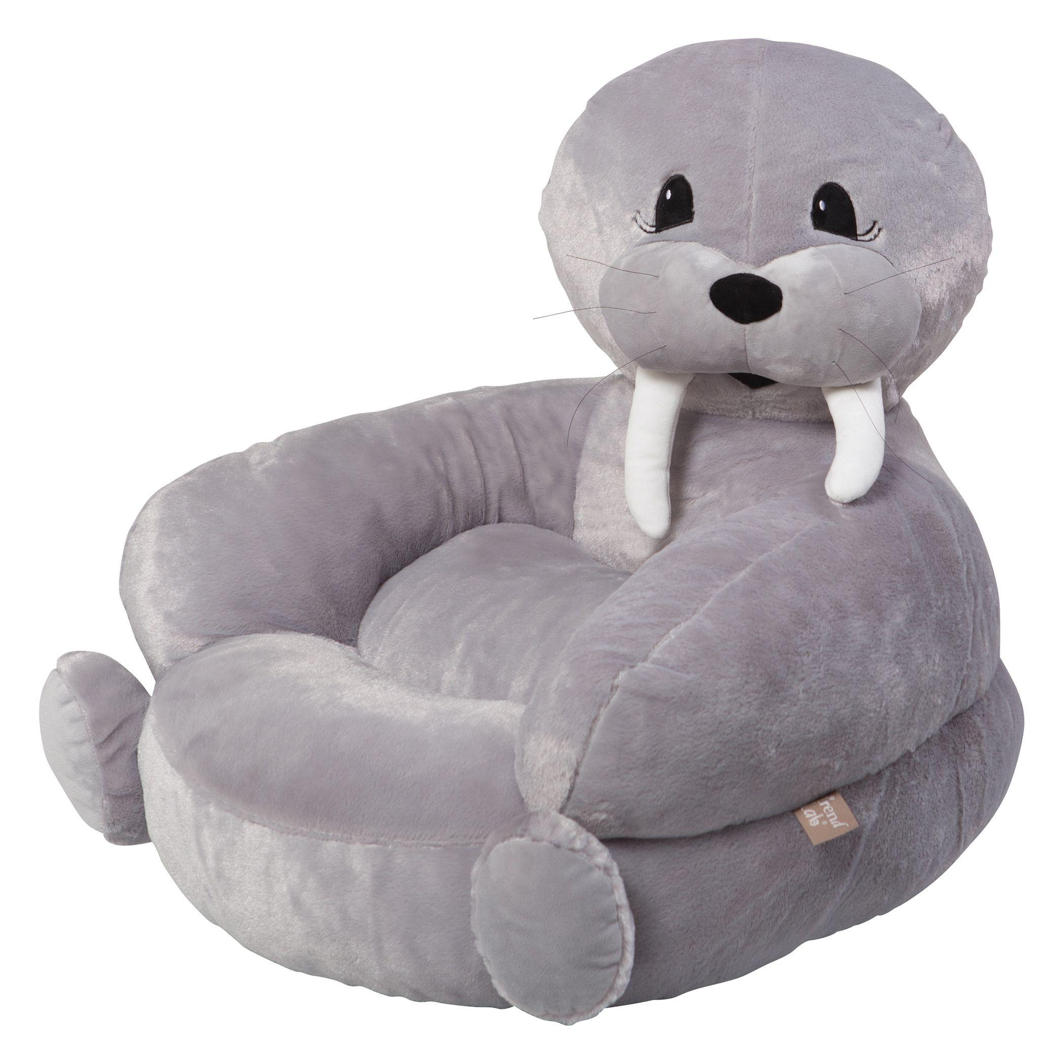 Plush · The Childrenu0027s Plush Walrus Character Chair ...